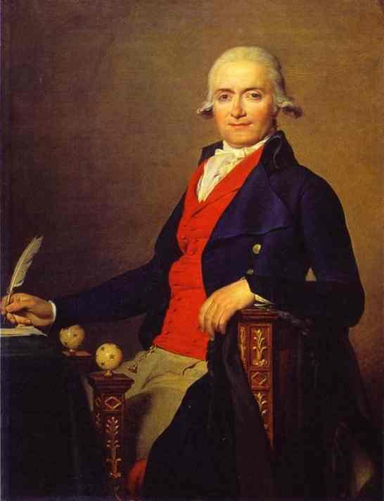 Oil painting:Portrait of Gaspar Mayer. 1795