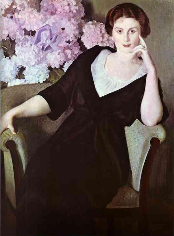 Oil painting: Portrait of Ren