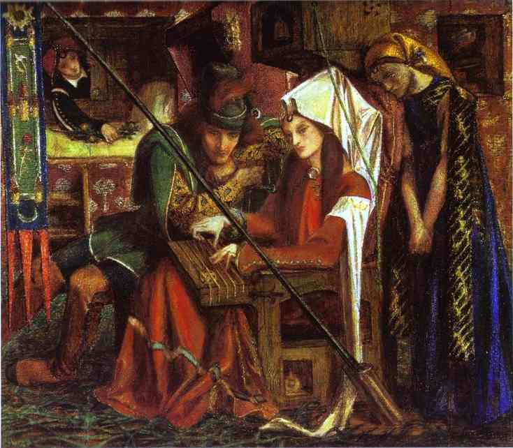 Oil painting:The Tune of Seven Towers. 1857