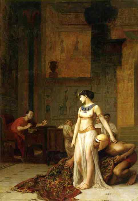 Oil painting for sale:Caesar and Cleopatra, 1866