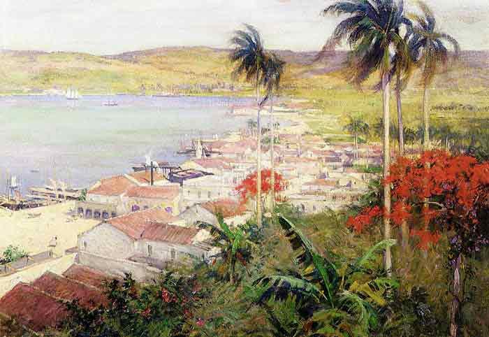 Oil painting for sale:Havana Harbor, 1902