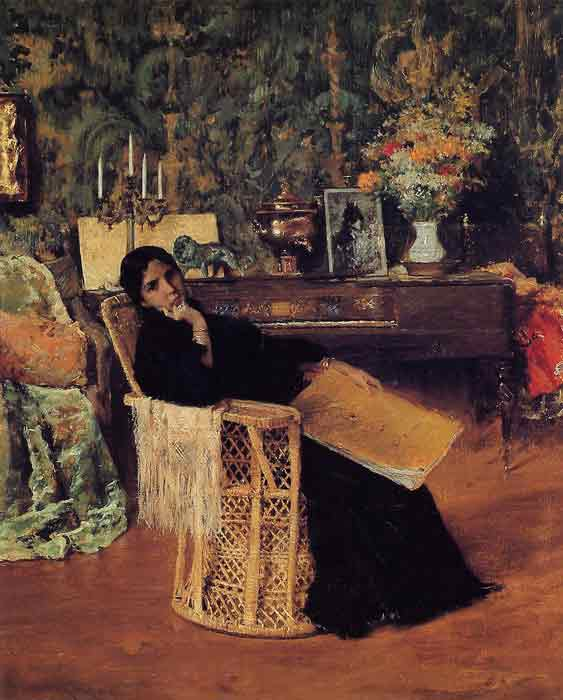 Oil painting for sale:In the Studio, 1892