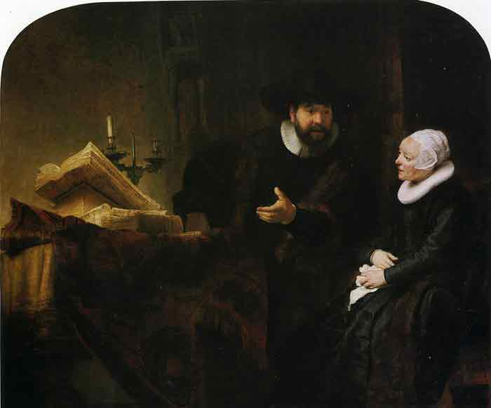 Oil painting for sale:Jan Rijcksen and Griet Jans, 1633
