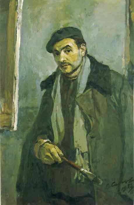 Oil painting for sale:Portrait of the Artist A. Blinkov, 1940