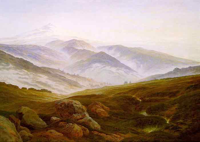 Oil painting for sale:Riesengebirge, 1835