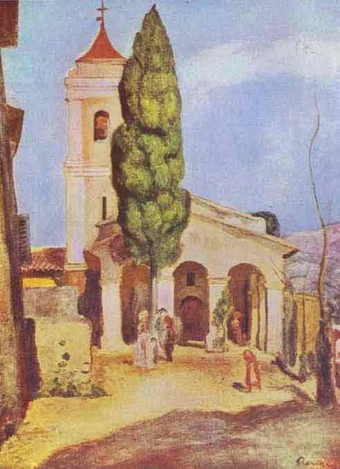 A Church at Cagnes. 1905