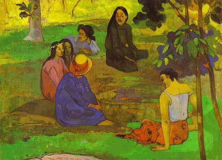 Les Parau Parau (Conversation). 1891