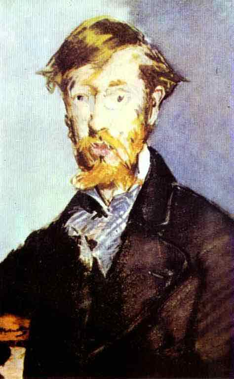 Portrait of George Moore. 1879