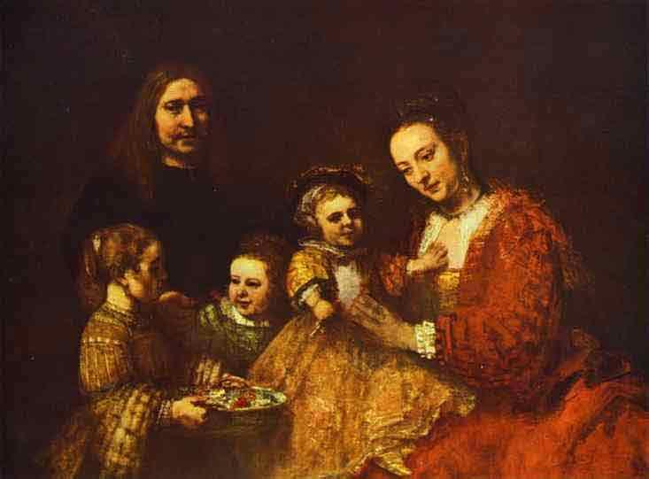 Portrait of a Family. c. 1668