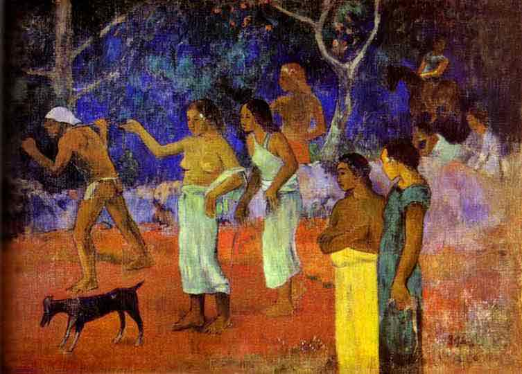Scenes from Tahitian Life. 1896