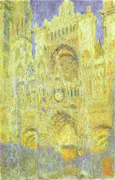 The Rouen Cathedral in the Evening. 1894.