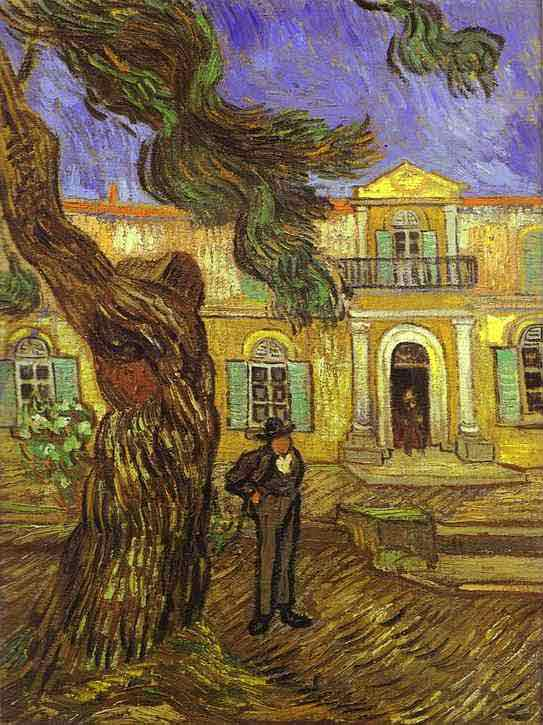 Tree and Man (in front of the Asylum of Saint-Paul, St. R
