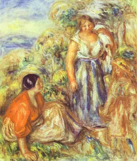 Two Women and a Child. 1912