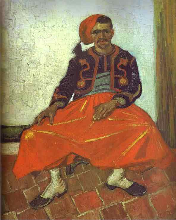 Zouave Milliet Seated. June 1888