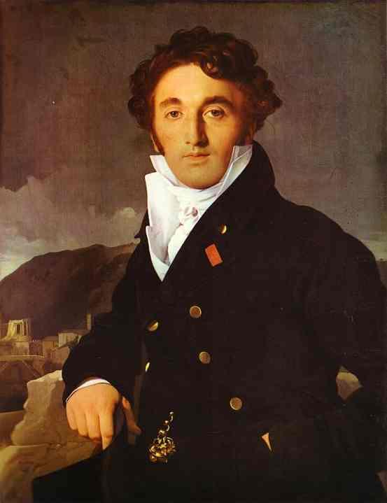 Oil painting:Portrait of Charles-Joseph-Laurent Cordier. 1811