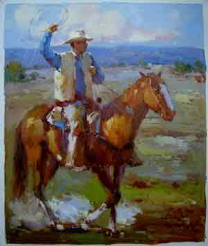 Oil painting for sale:horses-041