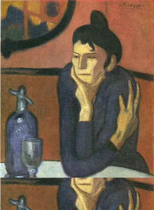 Oil painting for sale:The Absinthe Drinker, 1901