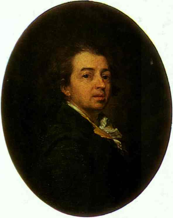 Oil painting:Self-Portrait. 1783