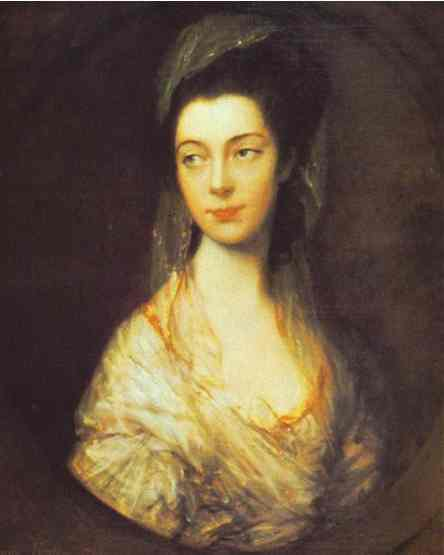 Oil painting:Mrs. Christopher Horton, later Anne, Duchess of Cumberland. 1766