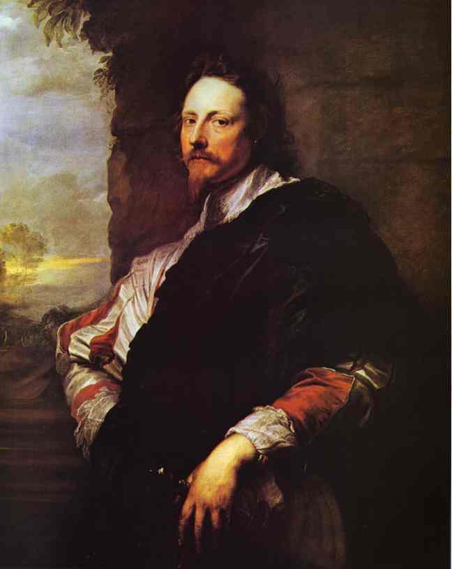 Oil painting:Nicholas Lanier. 1630