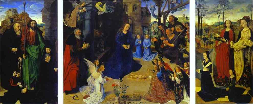 Oil painting:Portinari Altar. 1476