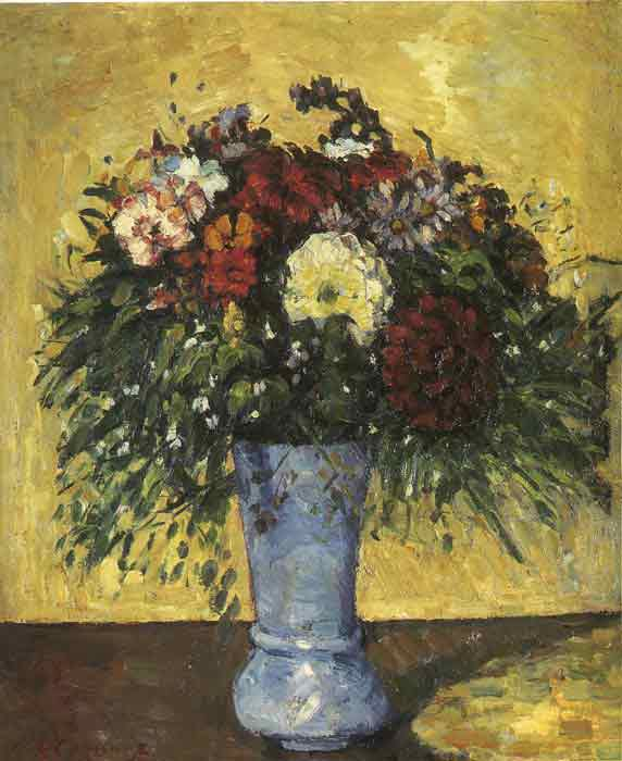 Oil painting for sale:Bouquet in a Blue Vase, 1873