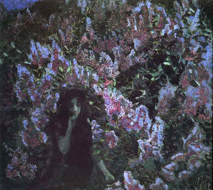 Oil painting for sale:Lilac, 1900