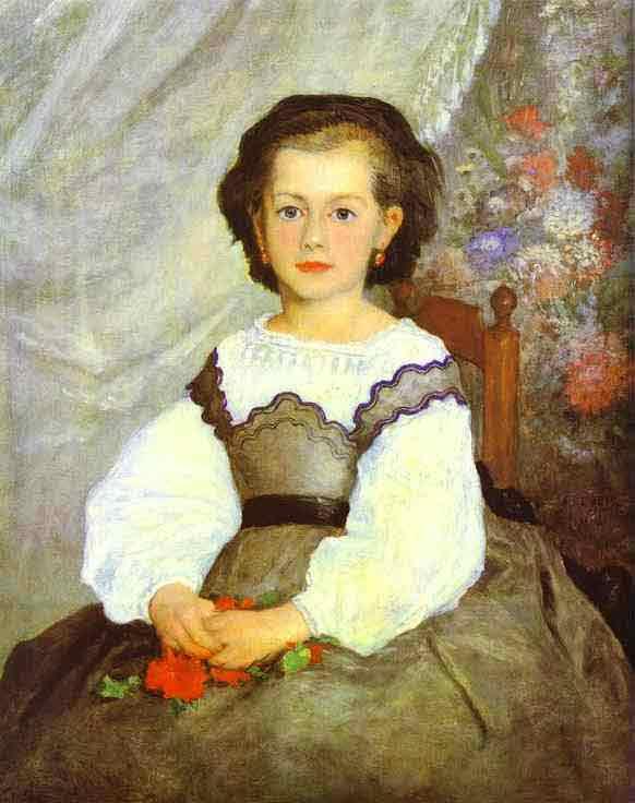 Little Miss Romaine Lacaux. 1864