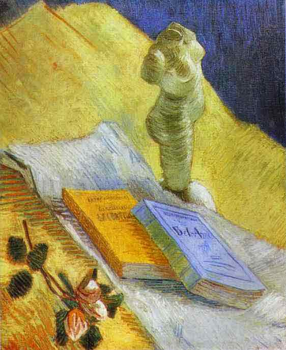Still Life with a Statuette. Autumn 1887