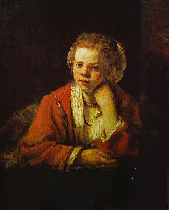 Young Girl at the Window. 1651