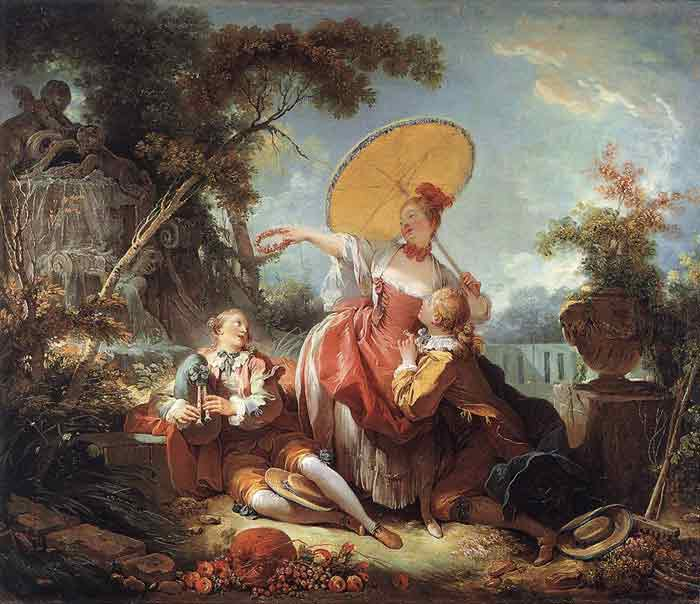 Oil painting for sale:The Musical Contest, c.1754
