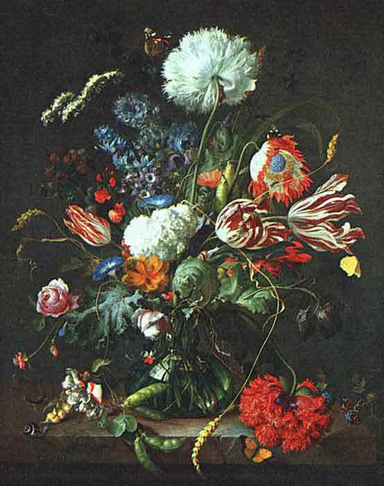 Oil painting for sale:Vase of Flowers , 1645
