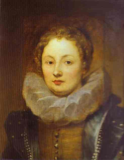 Oil painting:Portrait of a Noblewoman. 1621