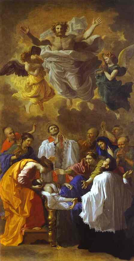 Oil painting:The Miracle of St. Francis Xavier. 1641