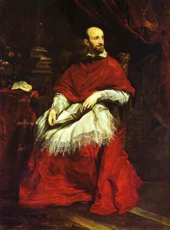 Oil painting:Cardinal Bentivoglio. 1622