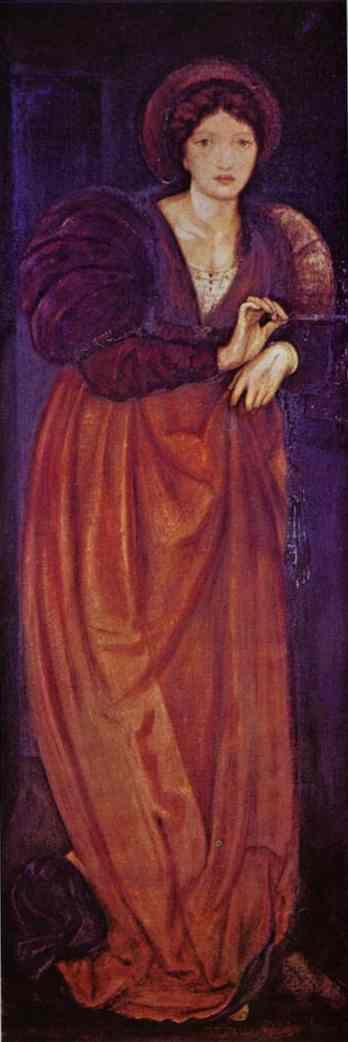 Oil painting:Fatima. 1862