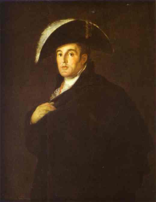 Oil painting:Goya? The Duke of Wellington. 1812