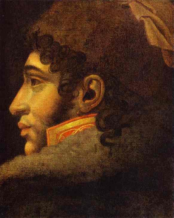 Oil painting:Portrait of Joahim Murat.