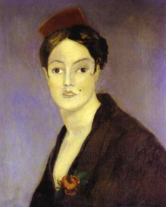 Oil painting:Spanish Woman/Espagnole. 1902