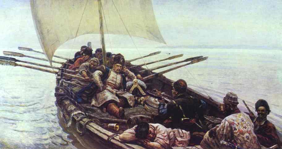 Oil painting:Stepan Razin. 1906