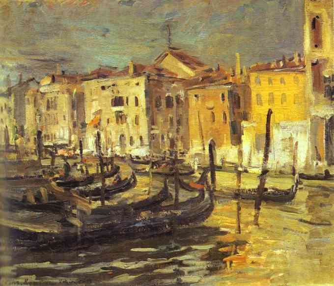 Oil painting: Venice. 1894