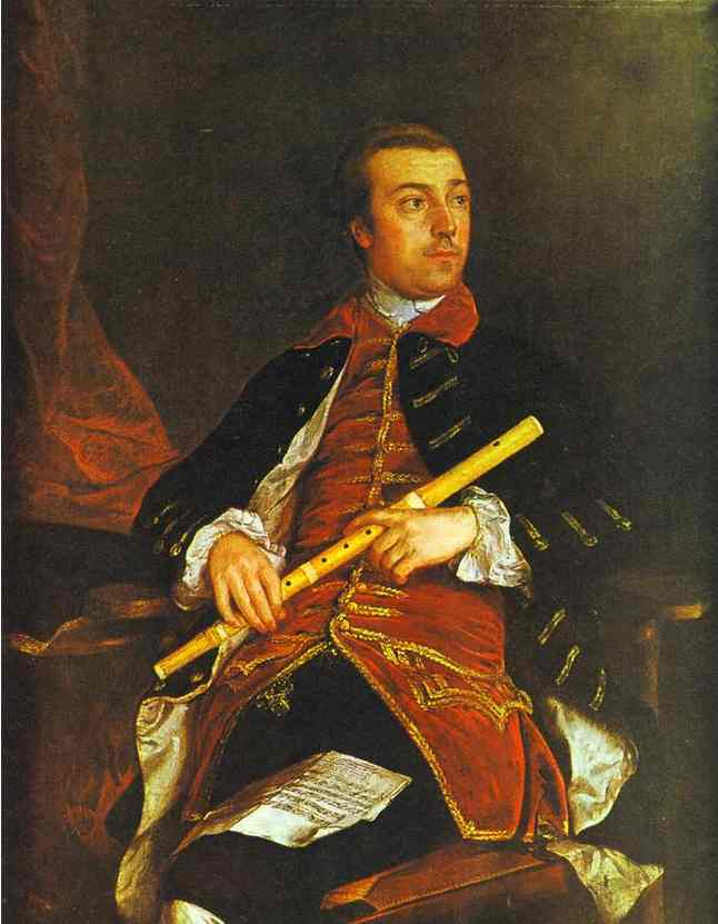Oil painting:William Wollaston. About 1758