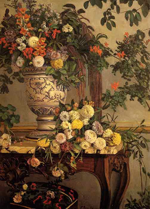 Oil painting for sale:Flowers, 1868