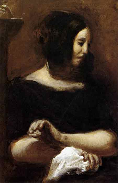 Oil painting for sale:George Sand, 1838