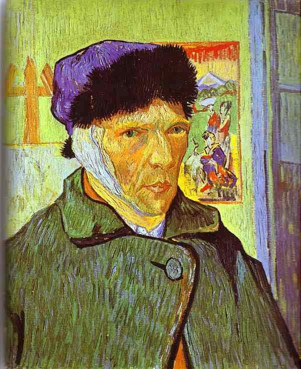 Self-Portrait with Bandaged Ear. January 1889