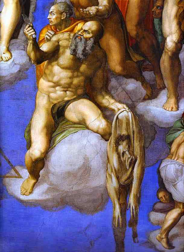 The Last Judgment (detail). 1534-1541
