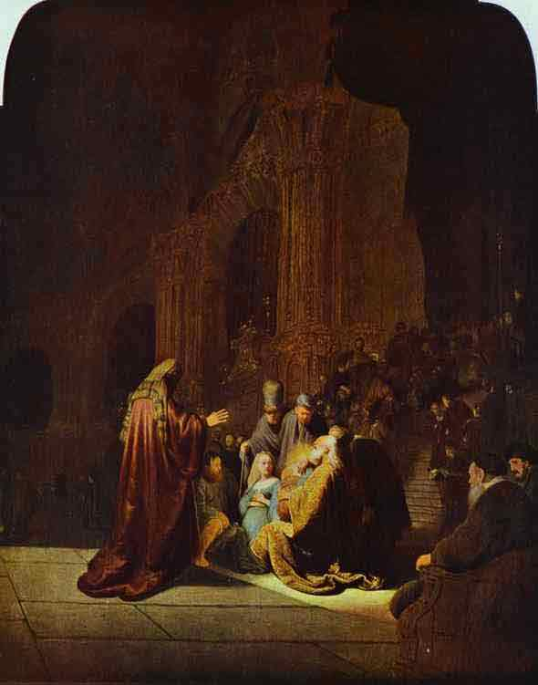 The Presentation of Jesus in the Temple. 1631