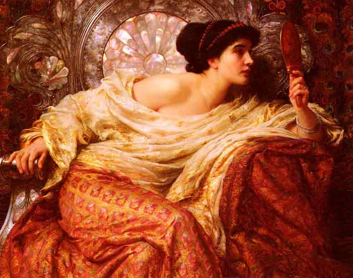 Oil painting for sale:The Mirror, 1896