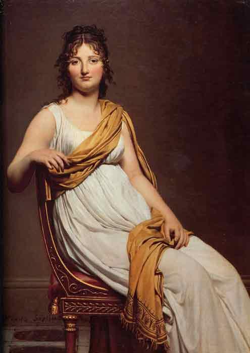 Oil painting for sale:Portrait of Henriette de Verninac, 1799