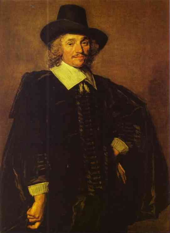 Oil painting:Portrait of a Gentleman. c. 1650